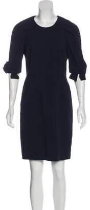 Viktor & Rolf Short Sleeve Knee-Length Dress