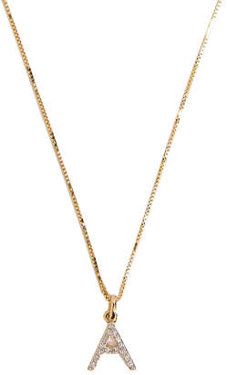 Amarilo 14k Gold & Diamond Initial Charm Necklace