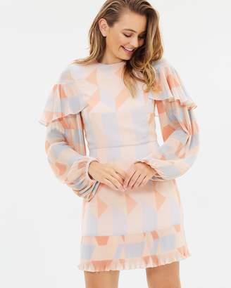 Cooper St Goldie Long Sleeve Dress