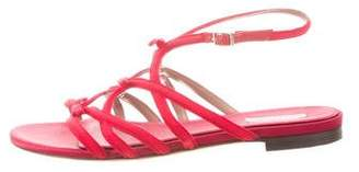 Tabitha Simmons Bow-Accented Grosgrain Sandals