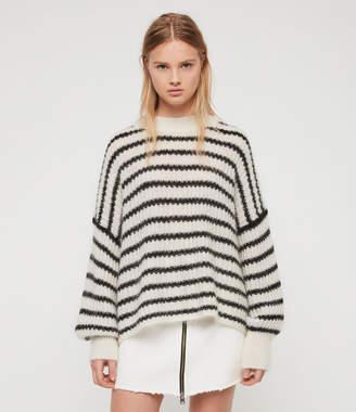 AllSaints Renne Stripe Sweater