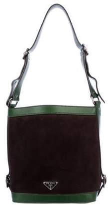 Prada Scamosciato Bucket Bag