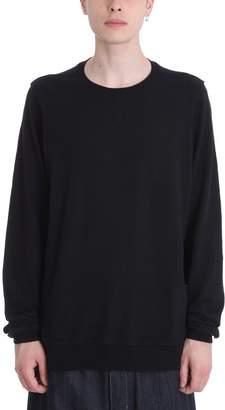 Drkshdw Black Cotton Sweatshirt