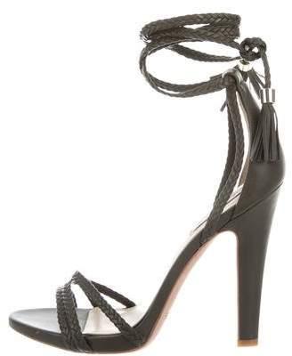 Rachel Zoe Woven Leather Sandals