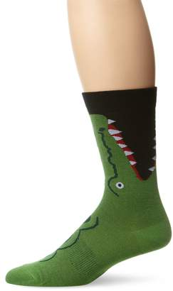 K. Bell K.Bell Black Label Men's Crocodile Crew Sock