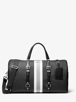 MICHAEL Michael Kors Bedford Travel Extra-Large Logo Stripe Weekender Bag