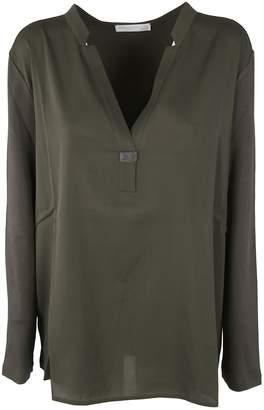 Fabiana Filippi Ribbed Long Sleeve T-Shirt