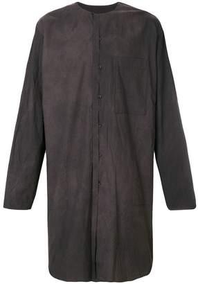Uma Wang oversized long shirt