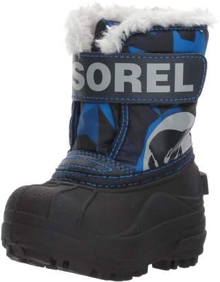 Sorel Baby Snow Commander Print, Abyss, Super Blue