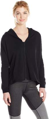 Puma Women's Satin T7 Track Jacket, Black