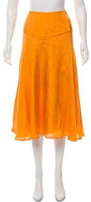 Dries Van Noten A-Line Midi Skirt