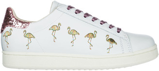 M.O.A. Master Of Arts M.O.A. master of arts Shoes Leather Trainers Sneakers Flamingo