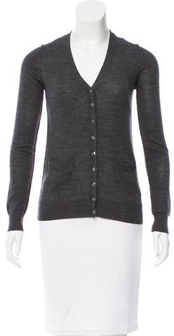 Dolce & GabbanaD&G Wool Button-Up Cardigan