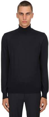 Tagliatore Turtleneck Wool Knit Sweater