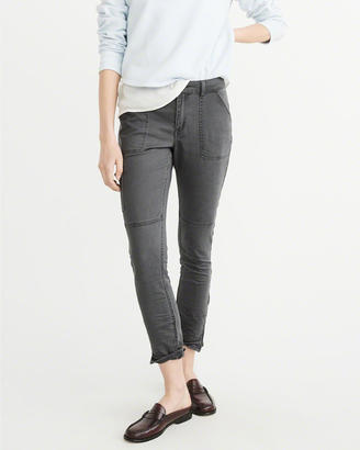 Low-Rise Military Pants $68 thestylecure.com
