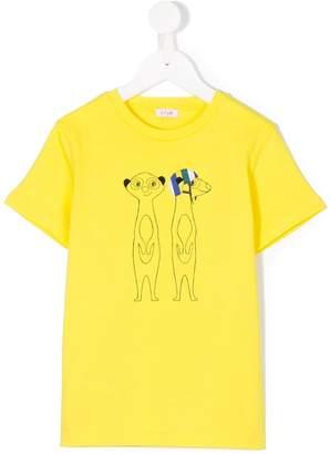Il Gufo meerkat print T-shirt