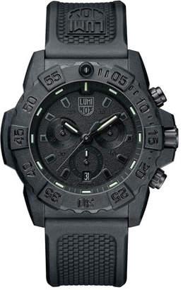 Luminox Men's Navy SEAL Chronograph Watch, Black