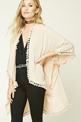 FOREVER 21+ Contemporary Tasseled Kimono $19.90 thestylecure.com