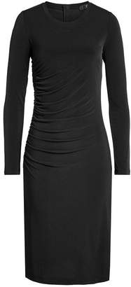 Steffen Schraut Draped Jersey Dress