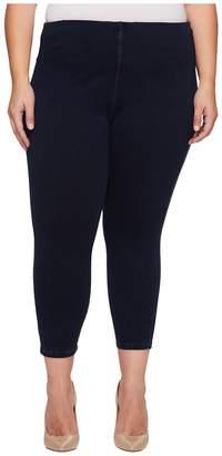 Lysse Plus Size Toothpick Crop Women's Casual Pants