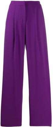 Parker Chinti & wide leg trousers