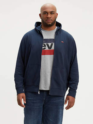 Levi's Levi's Classic Logo Zip Up Sweatshirt (Big)