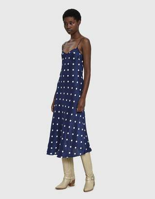Creatures of Comfort Cara Polka Dot Slip Dress