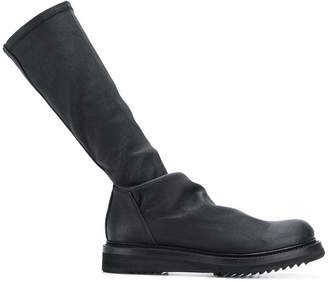 Rick Owens chunky heel boots