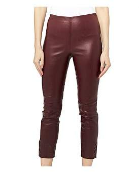 Theory Snap Legging Leather