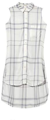 Two by Vince Camuto Plaid Sleeveless Tunic