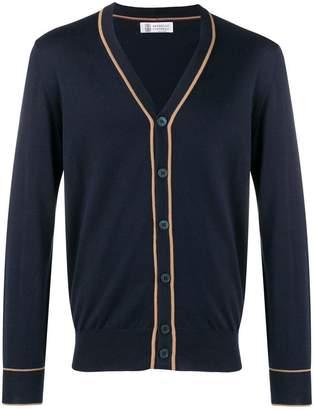 Brunello Cucinelli button V-neck cardigan