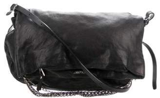 Jimmy Choo Leather Biker Bag Black Leather Biker Bag