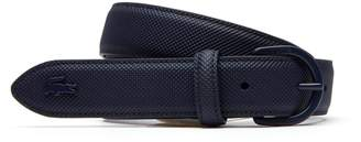 Lacoste Women's L.12.12 Concept Monochrome Pique Tongue Buckle Belt
