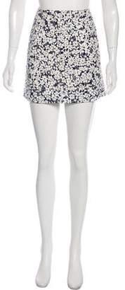 Burberry Printed Mini Skirt