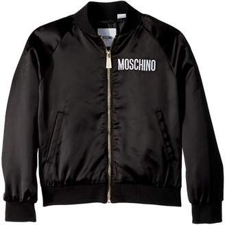 Moschino Kids - Jacket w/ Sequin Teddy Bear on Back