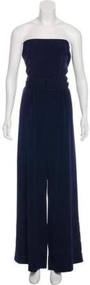 Miguelina Strapless Wide-Leg Jumpsuit