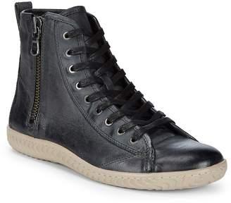John Varvatos Men's Star High-Top Leather Sneakers