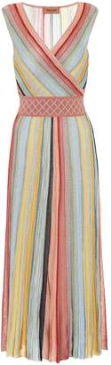 Missoni Striped crochet midi dress