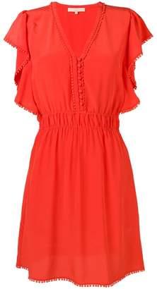 Vanessa Bruno embellished v-neck midi dress