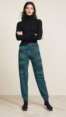 M Missoni Wool Jogger Pants