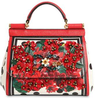 Dolce & Gabbana (ドルチェ & ガッバーナ) - DOLCE & GABBANA SICILY ミニ レザーバッグ