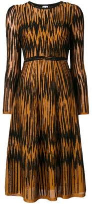 M Missoni patterned sweater dress