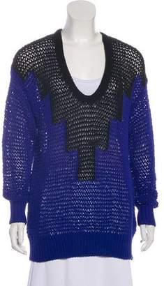 Alexander Wang Long Sleeve Knit Sweater