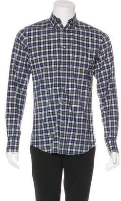 DSQUARED2 Woven Check Shirt