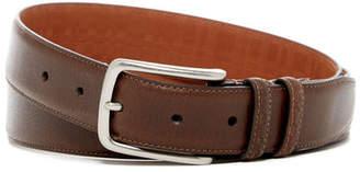 Boconi Burnished Edge Leather Belt $79.99 thestylecure.com
