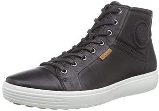 Ecco Men's Soft 7 High Top Fashion Sneaker