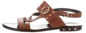 Belstaff Studded Leather Sandals