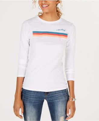Freeze 24-7 Juniors' Cotton Graphic-Print T-Shirt