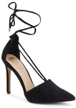 Nitta Leather Point Toe Pumps