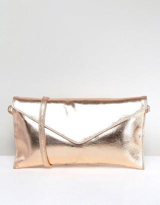 Oasis Metallic Cross Body Bag $40 thestylecure.com